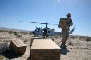 Military resupply